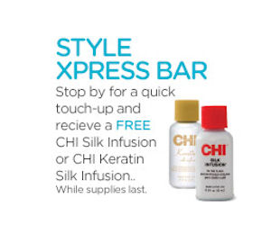 Free CHI Silk Infusion or Keratin Silk Infusion at JC Penney