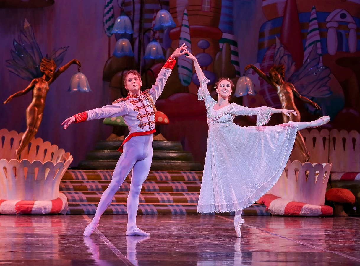 Dana Benton and Jesse Marks in The Nutcracker 2 - photo by Mike Watson
