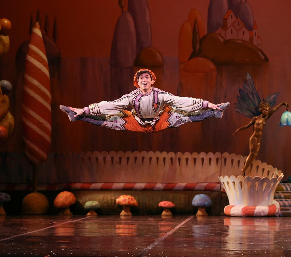 Kevin Gael Thomas in The Nutcracker - Russian Dance - photo by Mike Watson