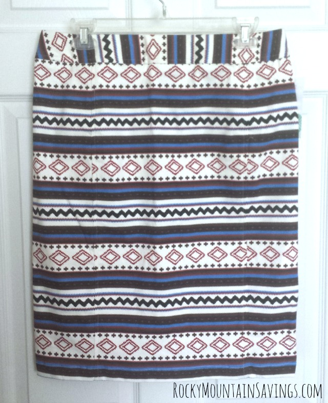 Pixley Joan Geo Print Pencil Skirt - April 2015 Stitch Fix