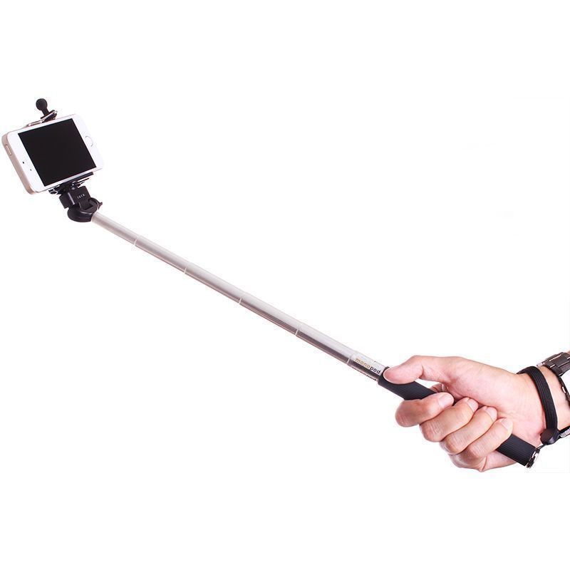 selfie stick with remote shutter control free shipping. Black Bedroom Furniture Sets. Home Design Ideas