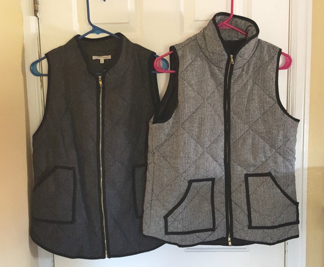Herringbone Vests