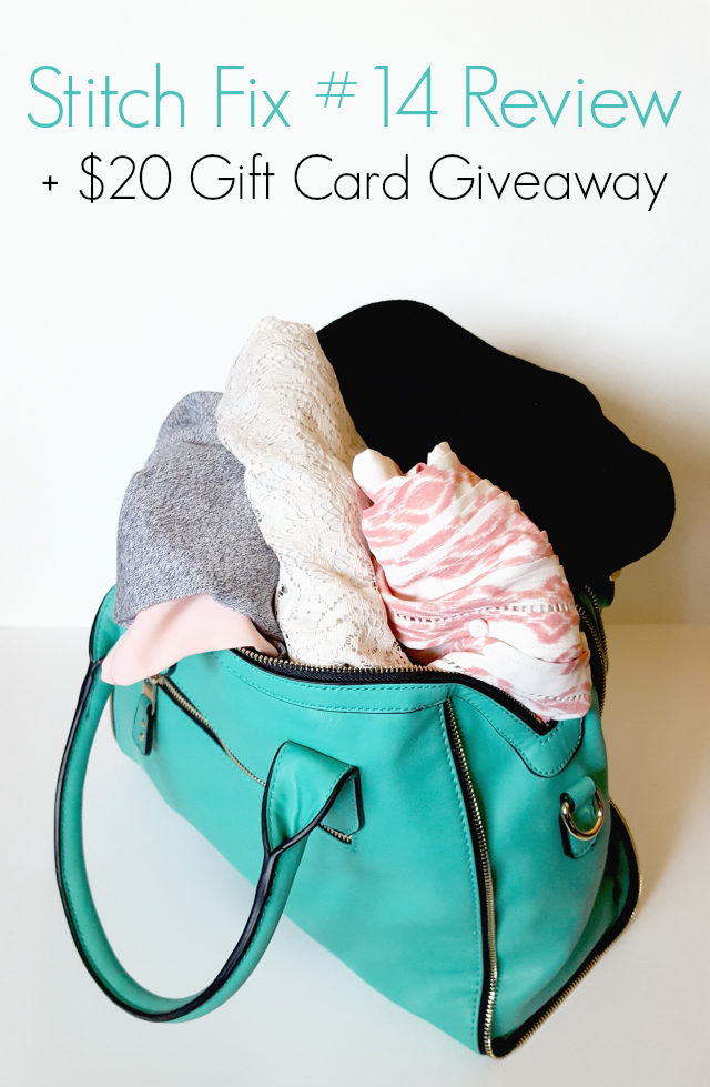 Stitch Fix #14 Review and $20 Gift Card Giveaway