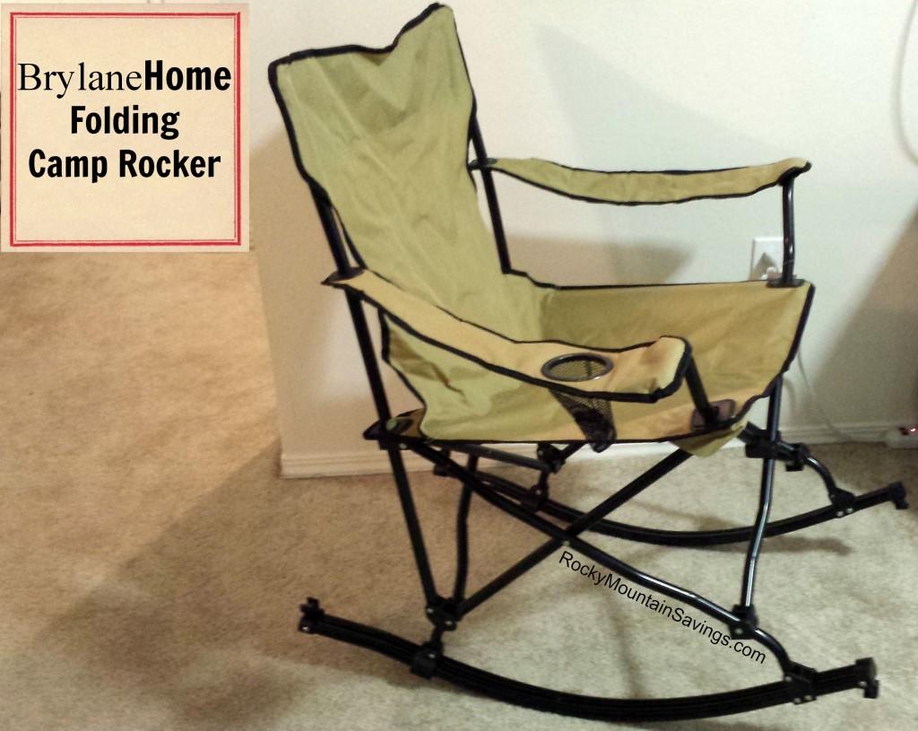 BrylaneHome Folding Camp Rocker Review