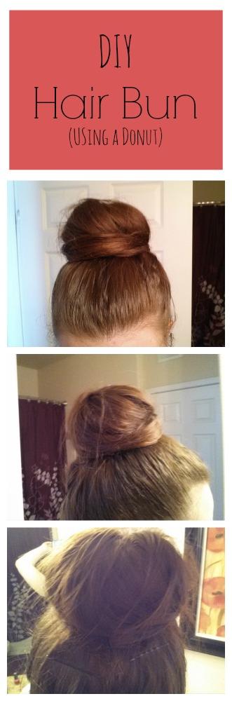 DIY Hair Bun