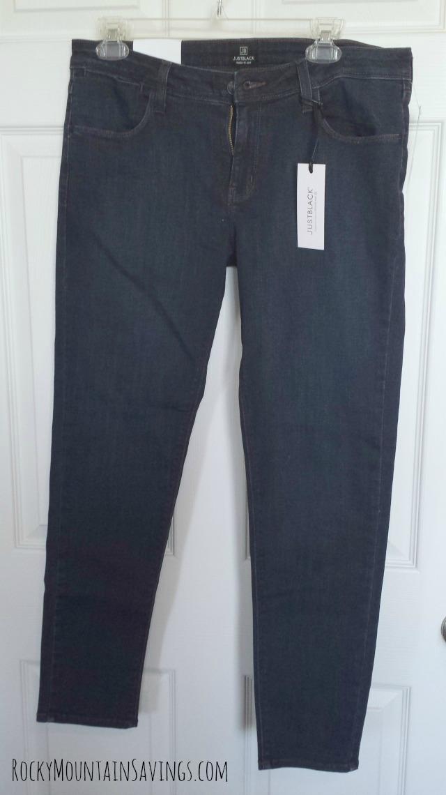 Stitch Fix #2 - Just Black Jimmy Ankle Length Skinny Jean