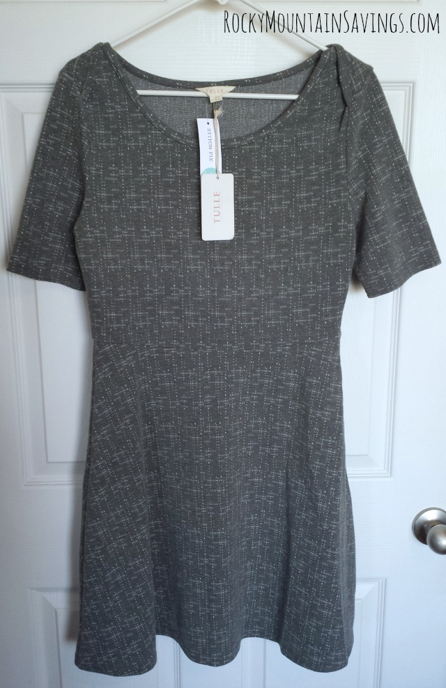 Stitch Fix #2 - Tulle Melinda Textured Dress