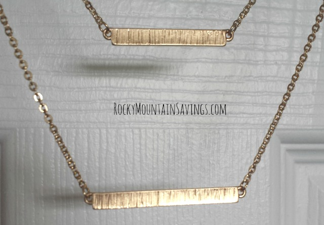 Bay to Baubles Kalea Double Bar Necklace 2