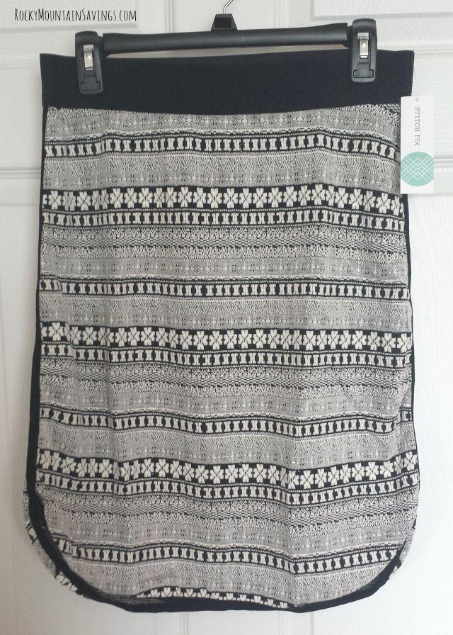 Gilli Kolby Printed Skirt