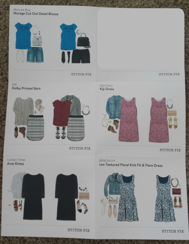 Stitch Fix Styling Card