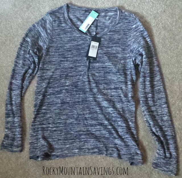 Mavi Folwell Henley Knit Top - Stich Fix #7