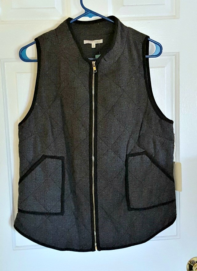 Shara Herringbone Vest
