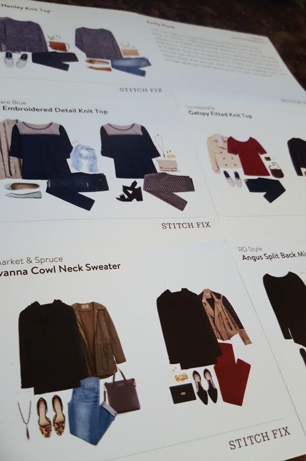 Stitch Fix Styling Card