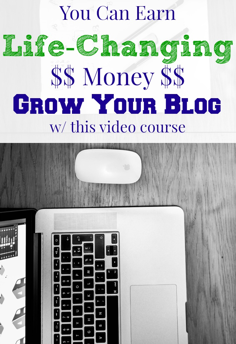 Grow Your Blog Video Course