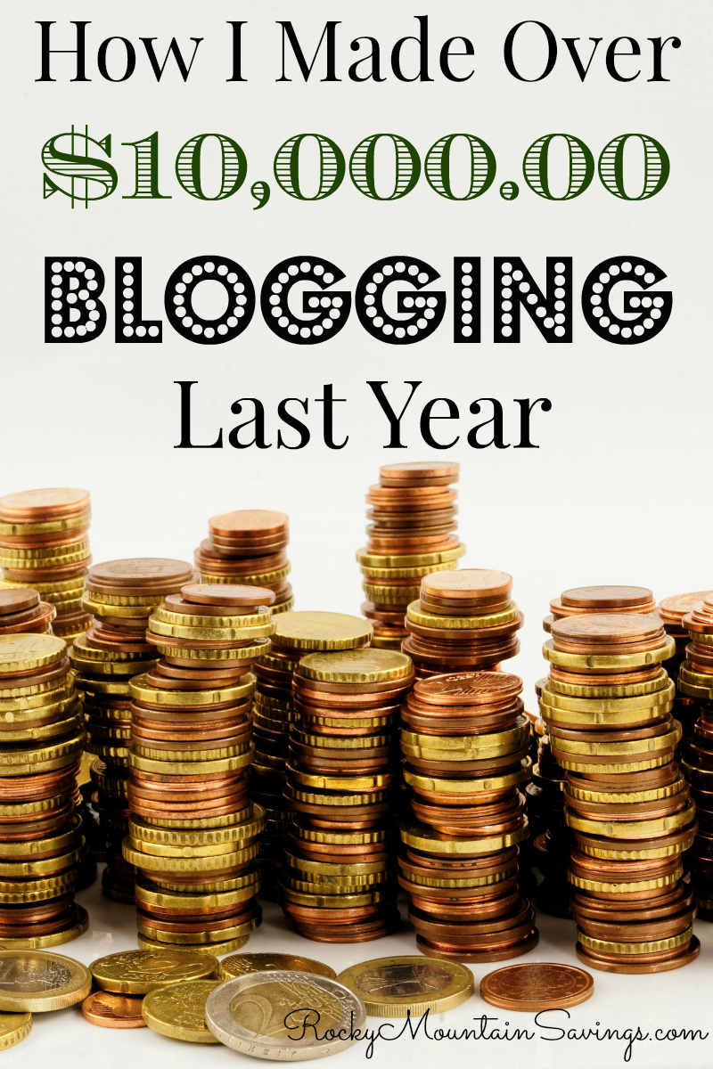 Make $10,000 Blogging