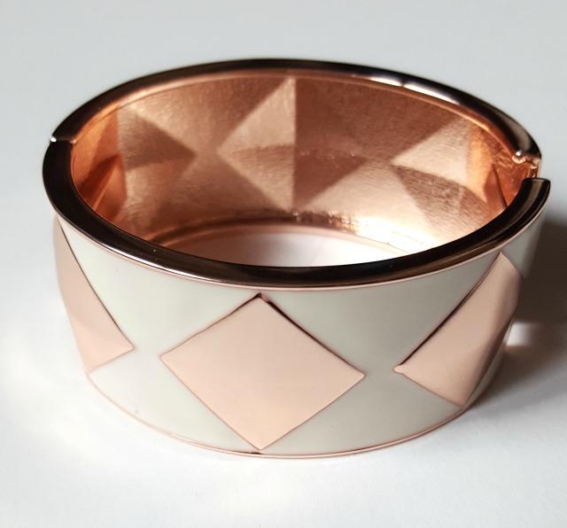 Ava Diamond Enamel Bracelet Le Tote