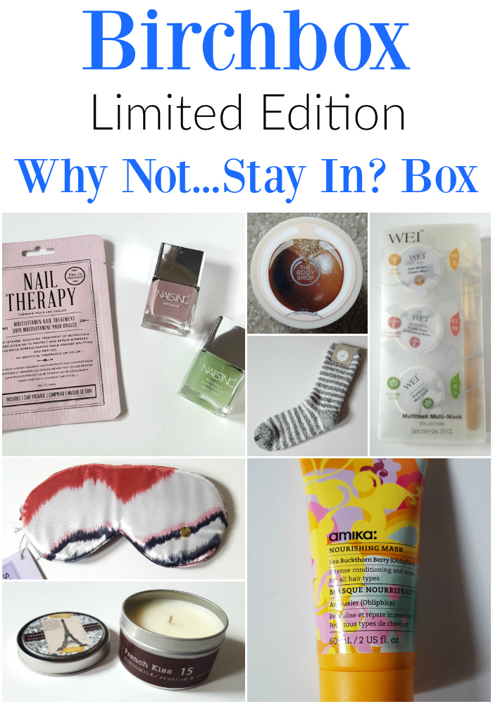 Birchbox WHy Not Stay In Box