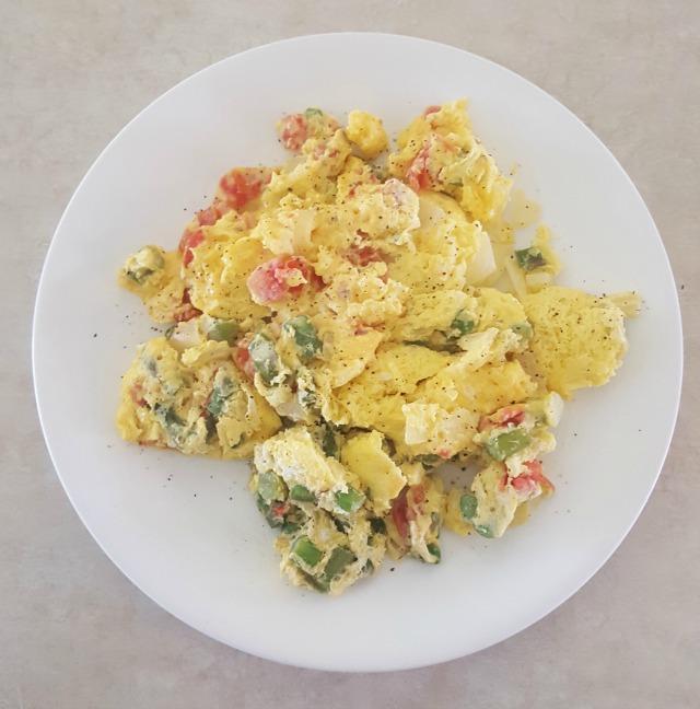 Scrambled Eggs Ready.Chef.Go!