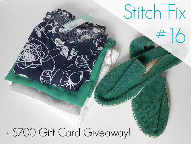 Stitch Fix #16 Review + $700 Gift Card Giveaway