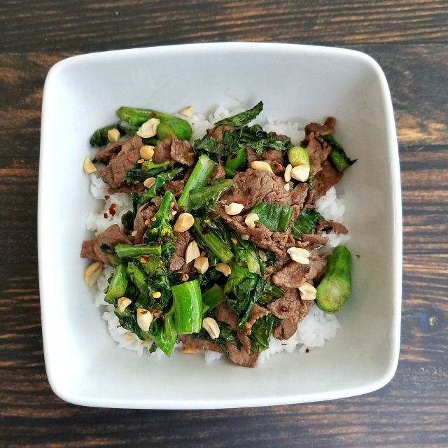 Healthy Takeout Mongolian Beef