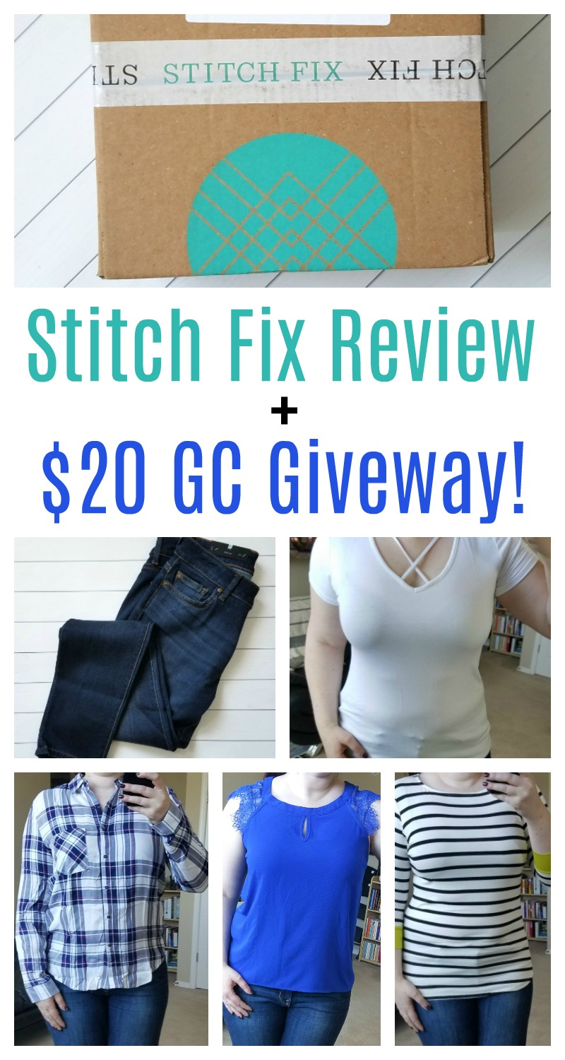Stitch Fix Review + $20 Gift Card Giveaway