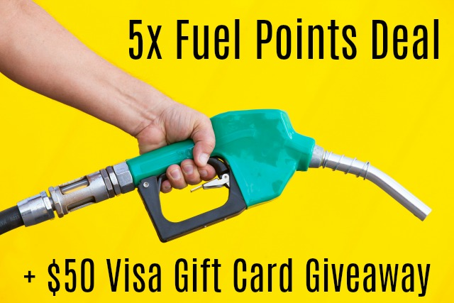 Safeway Albertsons 5x Fuel Points Deal