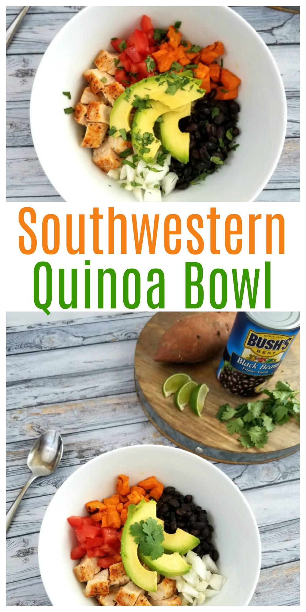 Southwestern Quinoa Bowl Recipe