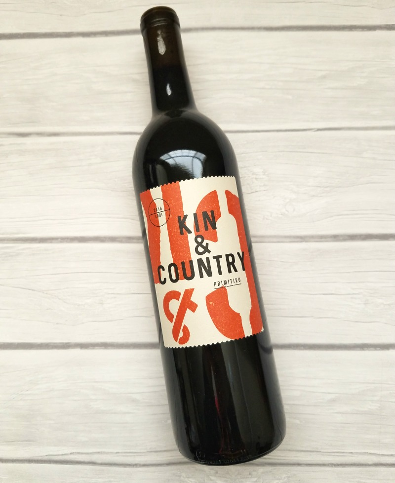 2016 Kin & Country Primitivo