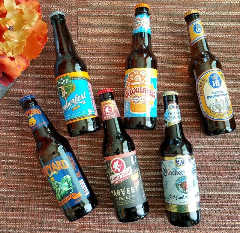 Fall Seasonal Beer Bucket