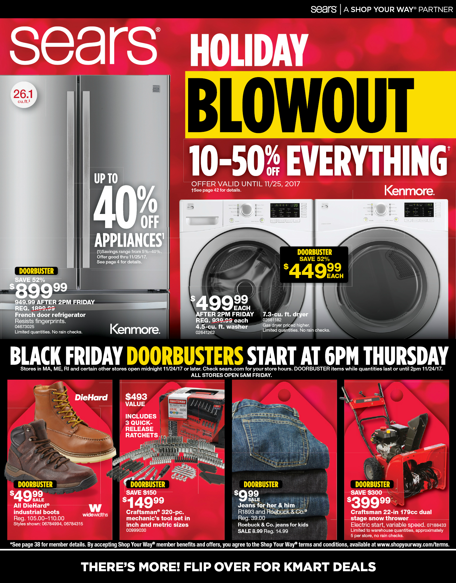 sears black friday ad 2017. Black Bedroom Furniture Sets. Home Design Ideas