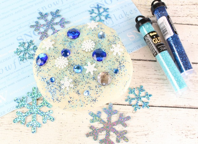 how to make glitter playdough without cream of tartar