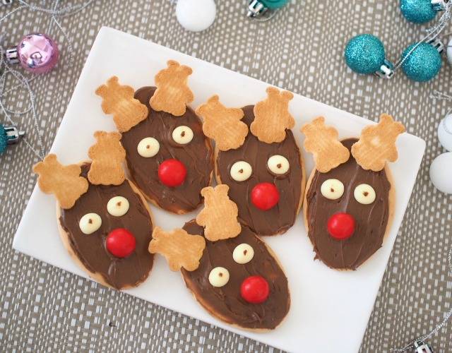 easy reindeer cookies a christmas cookie recipe