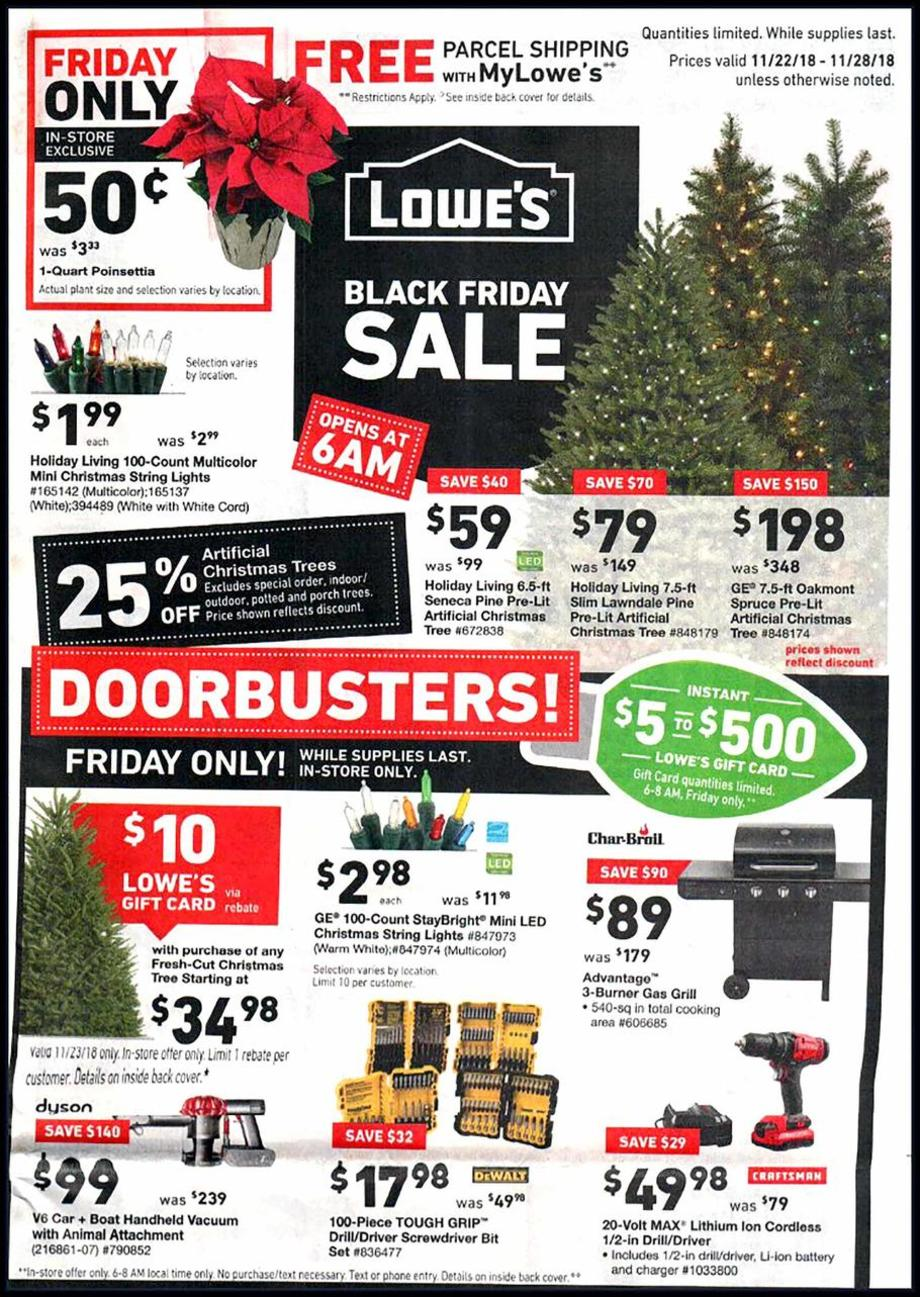 Lowe S Black Friday Ad 2018